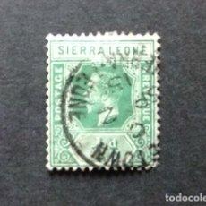 Sellos: SIERRA LEONE 1912 GEORGE V YVERT 89 FU SG 103 FU. Lote 117067111