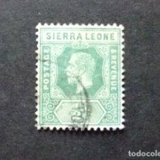 Sellos: SIERRA LEONE 1912 GEORGE V YVERT 89 FU SG 103 FU. Lote 117073715