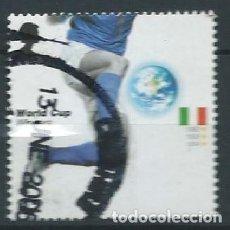 Francobolli: GRAN BRETAÑA 2006 COPA MUNDIAL FUTBOL: ITALY 42P SG 2629 YV 2763. Lote 118145395