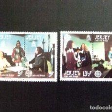 Sellos: JERSEY 1980 EUROPA YVERT 213 / 16 ** MNH. Lote 118590103