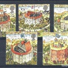 Sellos: YT 1826-30 GRAN BRETAÑA 1995 COMPLETA. Lote 147082434