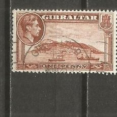 Francobolli: GIBRALTAR SELLO YVERT NUM. 103 USADO. Lote 119888171