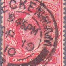 Sellos: 1902 - GRAN BRETAÑA - REY EDUARDO VII - YVERT 107. Lote 126117007