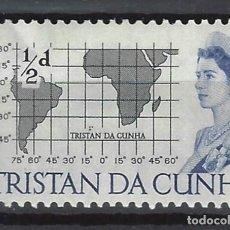 Sellos: TRISTAN DA CUNHA / COLONIA BRITÁNICA -SELLO NUEVO CON CHARNELA. Lote 128571003