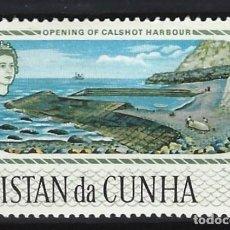 Sellos: TRISTAN DA CUNHA / COLONIA BRITÁNICA -SELLO NUEVO CON CHARNELA. Lote 128571243