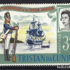 Sellos: TRISTAN DA CUNHA / COLONIA BRITÁNICA -SELLO NUEVO . Lote 128571511