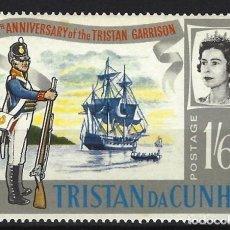 Sellos: TRISTAN DA CUNHA / COLONIA BRITÁNICA -SELLO NUEVO . Lote 128571527