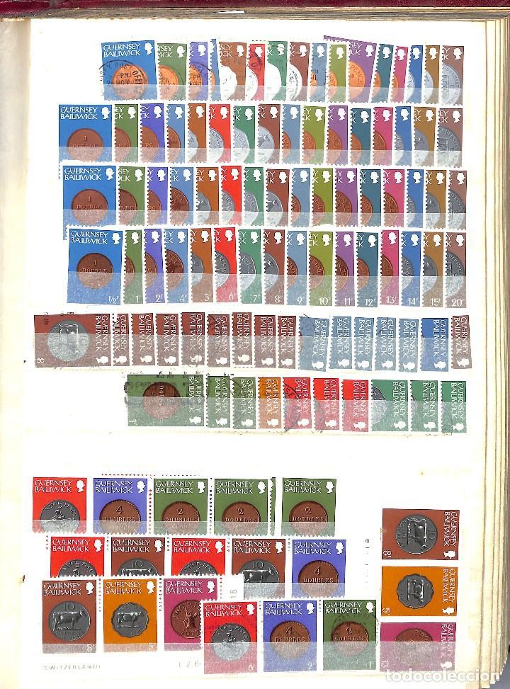 Sellos: GUERNESEY, 1969-2000 LOTE DE SELLOS Y HOJAS BLOQUE EN NUEVO Y USADO, - Foto 11 - 128746875