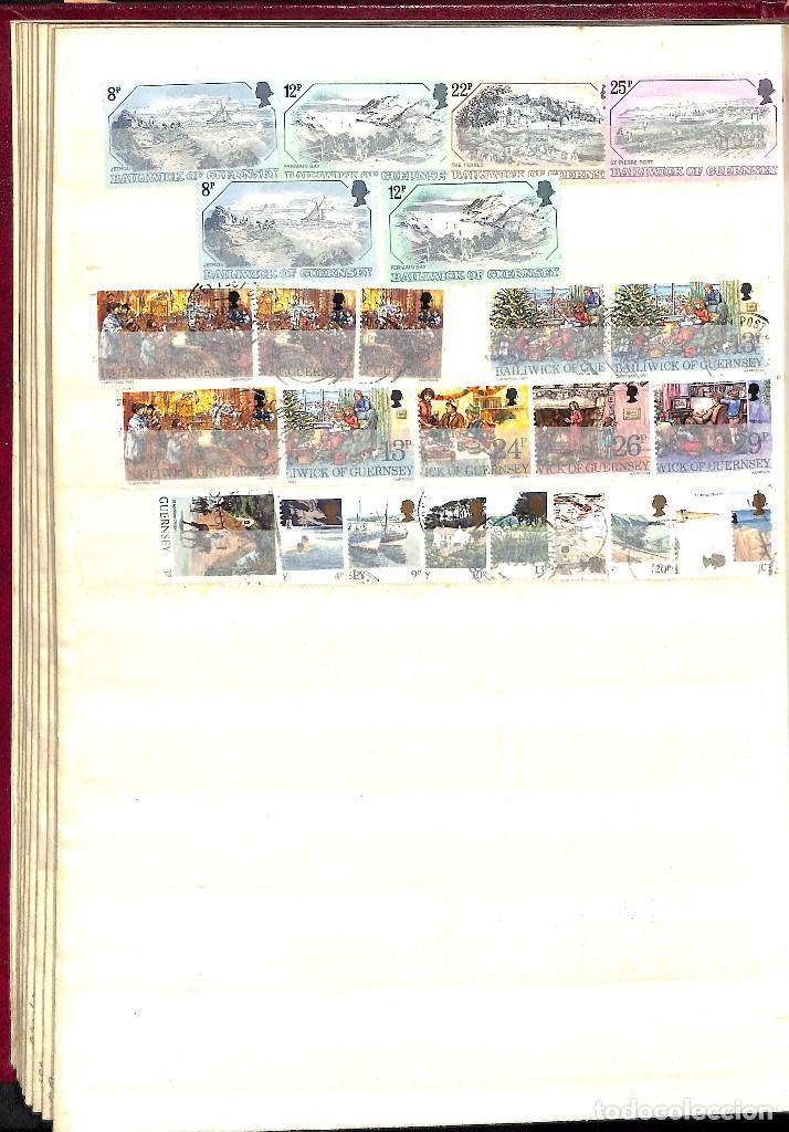 Sellos: GUERNESEY, 1969-2000 LOTE DE SELLOS Y HOJAS BLOQUE EN NUEVO Y USADO, - Foto 16 - 128746875