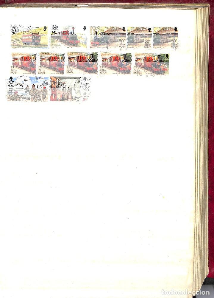 Sellos: GUERNESEY, 1969-2000 LOTE DE SELLOS Y HOJAS BLOQUE EN NUEVO Y USADO, - Foto 17 - 128746875