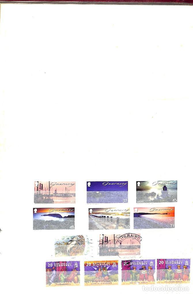 Sellos: GUERNESEY, 1969-2000 LOTE DE SELLOS Y HOJAS BLOQUE EN NUEVO Y USADO, - Foto 37 - 128746875