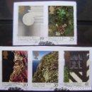 Sellos: INGLATERRA - IVERT 1809/13 - CENT. FUNDACION NACIONAL DE MONUMENTOS - LOS DE LA FOTO. Lote 133707806