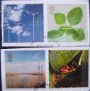 Sellos: INGLATERRA - IVERT 2162/65 - MILENIUM 2000 - IV - LOS DE LA FOTO. Lote 133831794