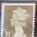 Sellos: INGLATERRA - IVERT 1144A - USADO - 2 BANDAS DE FOSFORO. Lote 133870722