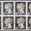 Sellos: INGLATERRA - IVERT C1444 - USADOS - BASICOS ISABEL II. Lote 133885662