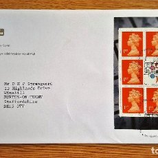 Sellos: SOBRE FRANQUEO SELLOS STAMP 1999 ENGLAND QEII. Lote 134102382