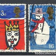 Sellos: YT 461-62 GRAN BRETAÑA 1966 . Lote 147080904