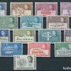 Sellos: SELLOS TERRITORIO ANTARTICO BRITANICO 1963 Y&T 1/15**. Lote 138655778