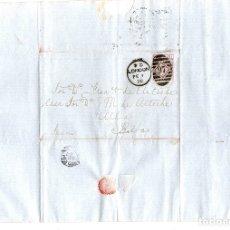 Sellos: SOBRE CIRCULADO DE LONDRES A BILBAO. AÑO 1878. Lote 139274622