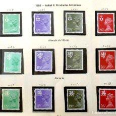 Sellos: GRAN BRETAÑA 1982 PROVINCIAS, COMPLETA-NUEVOS. Lote 139995750