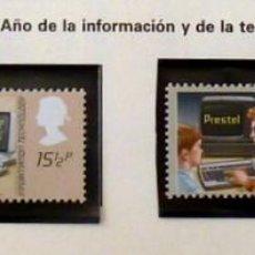 Sellos: GRAN BRETAÑA 1982 INFORMACION -COMPLETA-NUEVOS. Lote 139996846