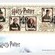 Sellos: GREAT BRITAIN 2018 - HARRY POTTER FDC. Lote 140333654