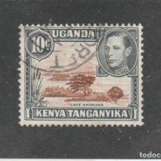 Sellos: KENYA-UGANDA-TANGANYIKA 1938 - SG NRO. 136 - USADO. Lote 140360094