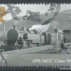 Sellos: GRAN BRETAÑA 2010 TRENES BRITÁNICOS BRITISH RAILWAYS:LMS NCC CLASS WT 97P SG 3113 YV 3379. Lote 140445930
