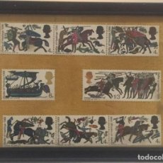 Sellos: SERIE STAMPS G.B.BATTLE OF HASTINGS 1066. Lote 142951850