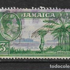 Sellos: JAMAICA 1938 - SC# 121 3P GRN & LT ULTRA - 1/27. Lote 143344214