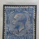 Sellos: SELLO INGLES, TWO PENCE, HARF PENNY, KINGGEORGE V, 1910. Lote 143822966