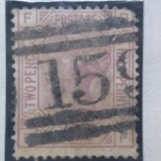 Sellos: SELLO INGLES, TWO PENCE, POSTAGE, QUEEN VICTORIA, 1881. Lote 143828050