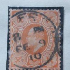 Sellos: SELLO INGLES, 4 D, POSTAGE, KING EDUARD. 1902. Lote 143833818