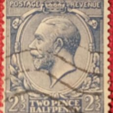 Sellos: GRAN BRETAÑA. 1912, JORGE V. 2½ P. AZUL (Nº 143 YVERT),. Lote 144057046