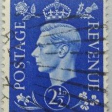 Sellos: GRAN BRETAÑA. 1937, JORGE VI. 2½ P. AZUL MARINO (Nº 213 YVERT).. Lote 144068074