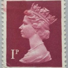 Sellos: GRAN BRETAÑA. 1971, ISABEL II. 1 P. PÚRPURA (Nº 606 YVERT).. Lote 144070294