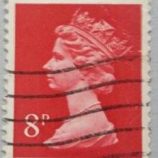 Sellos: GRAN BRETAÑA. 1973, ISABEL II. 8 P. ROSADO (Nº 699 YVERT).. Lote 144070574