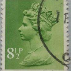 Sellos: GRAN BRETAÑA. 1975, ISABEL II. 8½ P. VERDE OLIVA (Nº 765 YVERT).. Lote 144070698