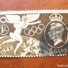 Sellos: 1948 JUEGOS OLIMPICOS DE LONDRES, YVERT 244. Lote 145401694