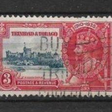 Sellos: TRINIDAD AND TOBAGO 1935 SC# 43/45 USED - 8/35. Lote 218173458