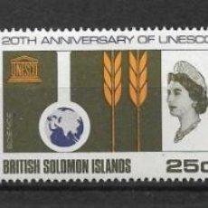 Sellos: SOLOMON ISLANDS 1966 SC # 171 - 173 MH & - 10/15. Lote 147093542