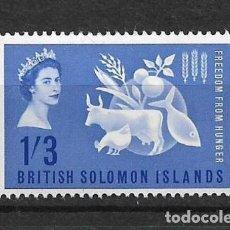 Sellos: SOLOMON ISLANDS 1963 SC # 109 MH - 10/12. Lote 147095626