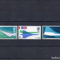 Sellos: GRAN BRETAÑA 1969, YVERT 555-57, MNH-SC. Lote 147490938