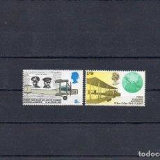 Sellos: GRAN BRETAÑA 1969, YVERT 558-59, MNH-SC. Lote 147490990