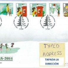 Sellos: GRAN BRETAÑA 2014 NAVIDADES CHRISTMAS SET 7V. FDC SG 3650-56 YT 4070-76. Lote 183628045