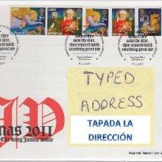 Sellos: GRAN BRETAÑA 2011 NAVIDADES CHRISTMAS SET DE 7V FDC SG 3242-48 YV 3565-71. Lote 183628075