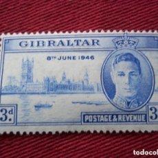 Sellos: SELLOS ANTIGUO GIBRALTAR 1946 NUEVOS. Lote 152433114