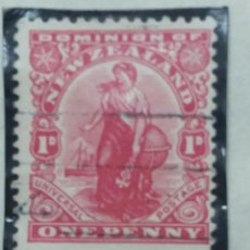 Sellos: SELLO, COLONIAS BRITANICAS, DOMINUON OF NEW ZEALAND, 1,D, REY GEORGE V, 1909. Lote 152573966