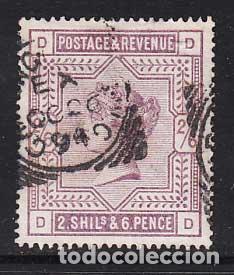 GRAN BRETAÑA - CORREO 1883-84 YVERT 86 O VICTORIA (Sellos - Extranjero - Europa - Gran Bretaña)