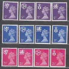 Sellos: GRAN BRETAÑA - CORREO 1971 YVERT 624/39 ** MNH ISABEL II. Lote 153990609